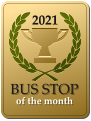 2021  BUS STOP  of the month